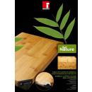 groothandel Keukenhulp: Bamboe snijplank met messenslijper