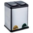 Pedaalemmer Duo 30 liter (2 compartimenten)