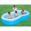 wholesale Garden playground equipment: 2-Rings family pool. (262x157x47cm)