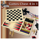 wholesale Parlor Games:Play Box 4-in-1