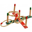 Wooden Ring Throw Game