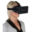 3-D virtual reality glasses