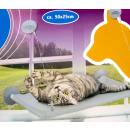 wholesale Garden Furniture: Cat hammock  (50x25) with suction cups