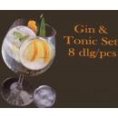 groothandel Food producten:Gin en tonic set (8dlg)