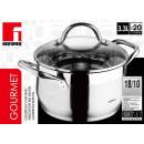 wholesale Pots & Pans: Stainless steel  pan 20cm - 3.3 liters