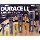 LED-Taschenlampen (Satz 4) mit Batterien