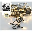 Luci di Natale 480 LED 36 metro bianco caldo