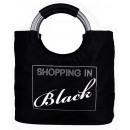 wholesale Handbags: Shopping bag Shopping In Black