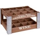 Houten Wijnfles-kist