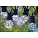 wholesale Light Garlands: Party lighting 10 multicolor lamps - 50 LEDs