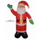 Babbo Natale. (240 centimetri)