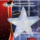 Holographic Stern, 10 Multicolor-LEDs