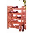 wholesale Thermos jugs: Wooden wine rack (25 bottles)