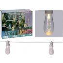 Illuminazione per feste - 20 lampade - trasparente