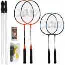 Großhandel Bälle & Schläger: Badmintonset für 4 Spieler