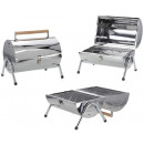 wholesale Garden & DIY store: Cylinder Barbecue with double grill surface