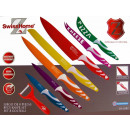 wholesale Cutlery: Swiss Home Stainless Steel Knife Set 8 parts