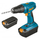 wholesale Electrical Tools: Cordless drill  driver, 2 battery packs (18V)