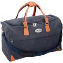 Großhandel Handtaschen: Leonardo Reisetasche blau