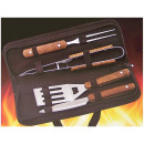 wholesale Barbecue & Accessories: Barbecue cutlery set 4-pieces in bag
