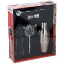 Großhandel Lunchboxen & Trinkflaschen:-Cocktail-Shaker Set aus Edelstahl