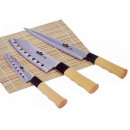 wholesale Knife Sets: Knife Nara (3  pieces) in wooden box