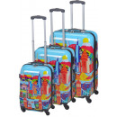 wholesale Suitcases & Trolleys:Trolleyset ABS Cityworld