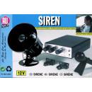 Sirene mit Mikrofon 12V