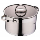 groothandel Food producten: Roestvrijstalen  pan met deksel (3,3 l.)