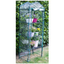 Greenhouse with 4 shelves