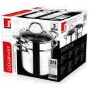 grossiste Consoles & Jeux /Accessoires: Stainless Pastapan 20cm - 5 litres
