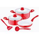 wholesale Pots & Pans:Ceramic cookware (7 pcs)
