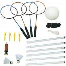 Volleyball- und Badminton-Set