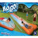 wholesale Garden playground equipment: H2O Go Double slide 5:49 meters