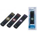Universal 7-in-1  remote control. (4 designs)