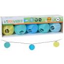 wholesale Wind Lights & Lanterns: Solar LED lanterns - 10 pieces colored