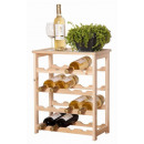wholesale Thermos jugs: Wooden wine rack (for 16 bottles)