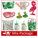 groothandel Home & Living: Mix Package   Summer  Flamingo, cactussen en Co.