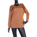 Großhandel Fashion & Accessoires: PULL-SPITZE JOCH CAMEL S06