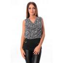 ingrosso Ingrosso Abbigliamento & Accessori: T-Shirt DONNE  BI-MATERIALE ZIP 8917