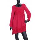 wholesale Dresses:LACE DRESS BORDEAUX 1087
