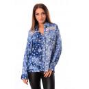 ingrosso Ingrosso Abbigliamento & Accessori: Shirt stampata JEANS EFFETTO 1020I1