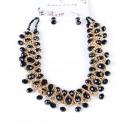 Großhandel Ohrringe: Halskette + Ohrringe 1411NO