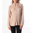 wholesale Shirts & Blouses: LACE SHIRT MOLE S / M - L / XL 1024