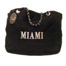 ingrosso Borse: 777 fortunato  femminile borsa nera B430 Miami