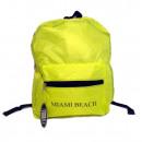 groothandel Rugzakken:Miami Beach rugzak, geel