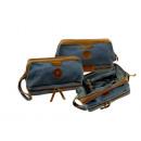 wholesale Travel Accessories: Toiletry bag / SAILCLOTH- (26) -Canvas-blue
