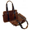 ingrosso Borse & Viaggi: Shopperbag / Scoth  - (25) whisky m. marrone scuro