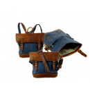 wholesale Backpacks: Backpackbag Unisex / SAILCLOTH- (26) -Canvas-blue