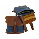 Großhandel Handtaschen: CASUALBAG / -SAILCLOTH-(26) Canvas-blau
